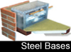 Durabase steel bases and modular walls image and page access