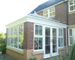 flat roof and lantern orangery image and page access